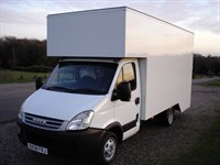 Used Iveco Daily 3.0L 35C15 3.5T New 15ft Dropwell Luton