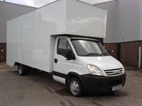 Used Iveco Daily 35C15  3.5T New 20ft Dropwell Luton
