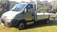 Used Iveco Daily 35C12 3.5T 16ft 6ins Transit Type Dropside Only 22602 Miles