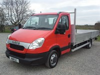 Used Iveco Daily 35C15 18ft Dropside Sat Nav 2012