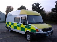 Used LDV Convoy Ex Ambulance Day Van Mortorhome