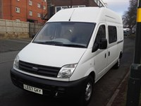 Used LDV Maxus LWB Transit Size 9 Seat Crew Minibus Splitter Van