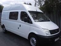Used LDV Maxus  9 Seat Transit Lwb Crew Minibus Splitter Van