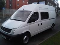 Used LDV Maxus 9 Seat LWB Crew Minibus Splitter Van