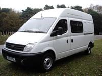 Used LDV Maxus 9 Seat LWB Transit Size Crew Minibus Splitter Van