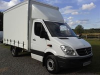 Used Mercedes Sprinter 313 CDI curtain side 13ft