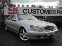 Used Mercedes S320 S CLASS TD CDi 4dr MOT JULY 2015