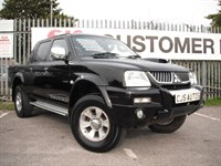 Used Mitsubishi L200 Double Cab TD Warrior 4WD 113 bhp NEW ENGINE @ 86K