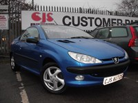 Used Peugeot 206 Coupe Cabriolet S 2dr A NICE EXAMPLE