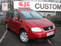 Used VW Touran TDI PD SE 5dr [5 Seat] F.VW.S.H