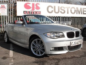 used BMW 120i 1 SERIES M Sport 2dr STUNNING RED LEATHER in Bedminster-Bristol
