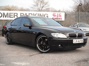 used BMW 750i 7 SERIES Sport 4dr Auto WHAT A CAR!!!!!!! in Bedminster-Bristol