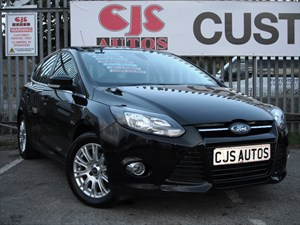 used Ford Focus TDCi 115 Titanium 5dr NEW SHAPE in Bedminster-Bristol