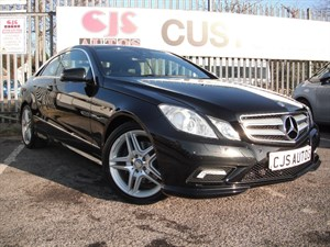 used Mercedes E220 E CLASS CDI BlueEFFICIENCY (s/s) Sport Edition 125 2dr 7G-Tronic Plus in Bedminster-Bristol