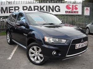used Mitsubishi Outlander DI-D Juro 5dr NEW SHAPE in Bedminster-Bristol