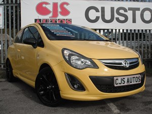 used Vauxhall Corsa CDTi ecoFLEX Limited Edition 3dr BLACK ROOF in Bedminster-Bristol