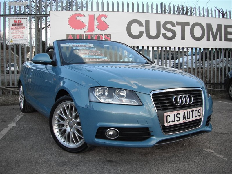 used Audi A3 Cabriolet TFSI S Line Tronic 2dr in Bedminster-Bristol