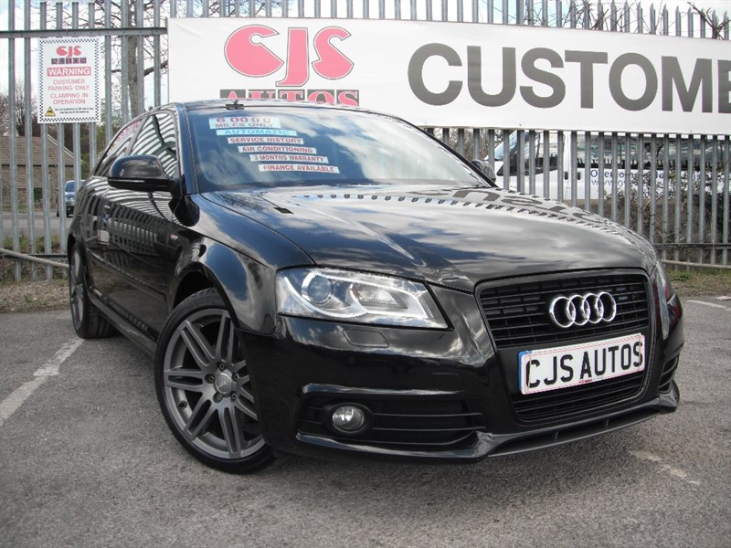 used Audi A3 TDI Black Edition S Tronic 3dr in Bedminster-Bristol
