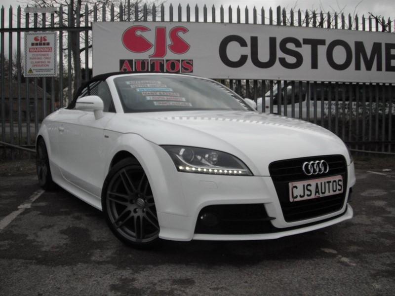 used Audi TT TFSI Black Edition Roadster S Tronic 2dr in Bedminster-Bristol