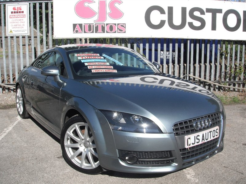 used Audi TT TFSI S Tronic Quattro 3dr in Bedminster-Bristol