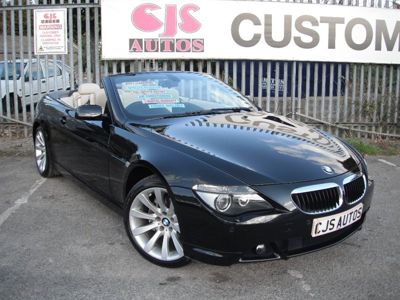 used BMW 630i 6 Series Sport 2dr in Bedminster-Bristol