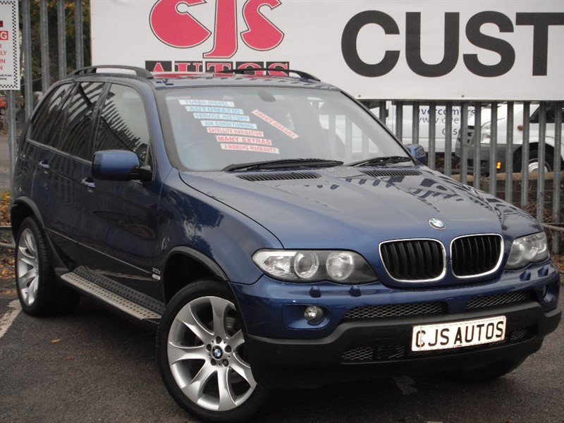 used BMW X5 d Sport Blue Edition 5dr in Bedminster-Bristol