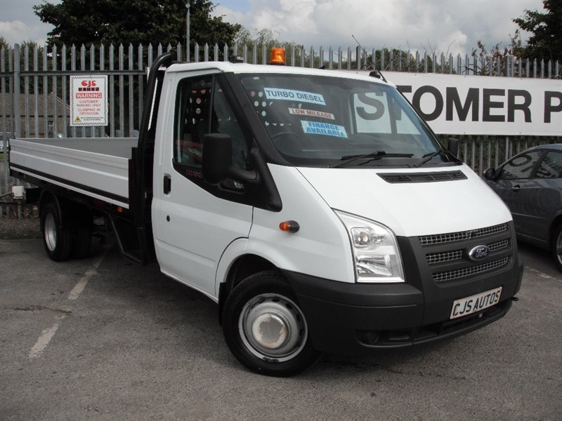used Ford Transit TDCi 350 LWB Extended Frame (DRW) Chassis Cab RWD 2dr in Bedminster-Bristol