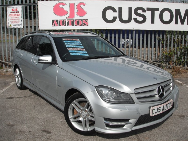 used Mercedes C350 C Class CDI BlueEFFICIENCY Sport Edition 125 7G-Tronic 5dr in Bedminster-Bristol