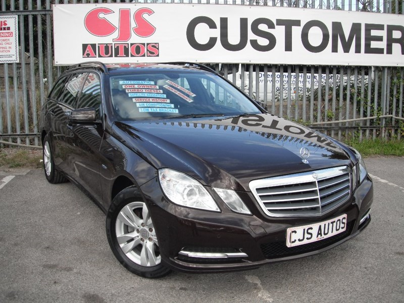 used Mercedes E220 E Class TD BlueEFFICIENCY (s/s) CDI SE Edition 125 7G-Tronic in Bedminster-Bristol