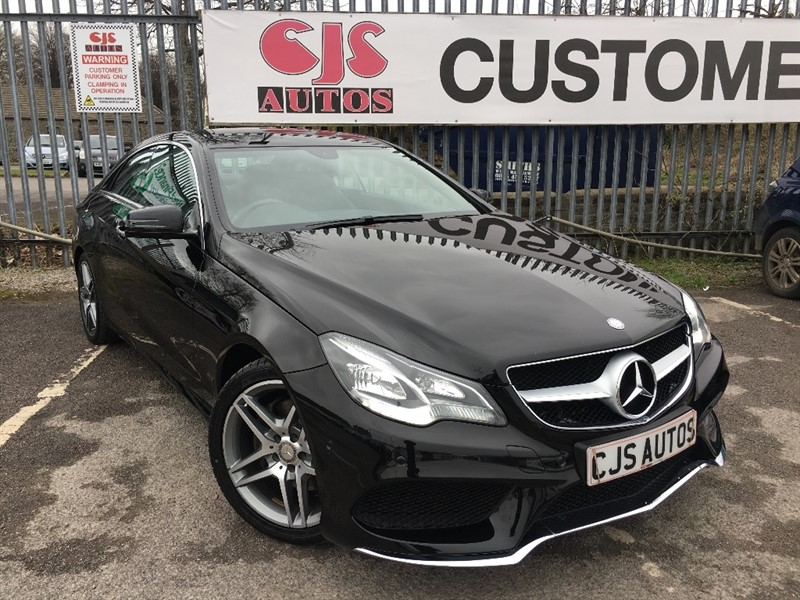 used Mercedes E250 E Class CDI AMG Sport 7G-Tronic Plus 2dr in Bedminster-Bristol