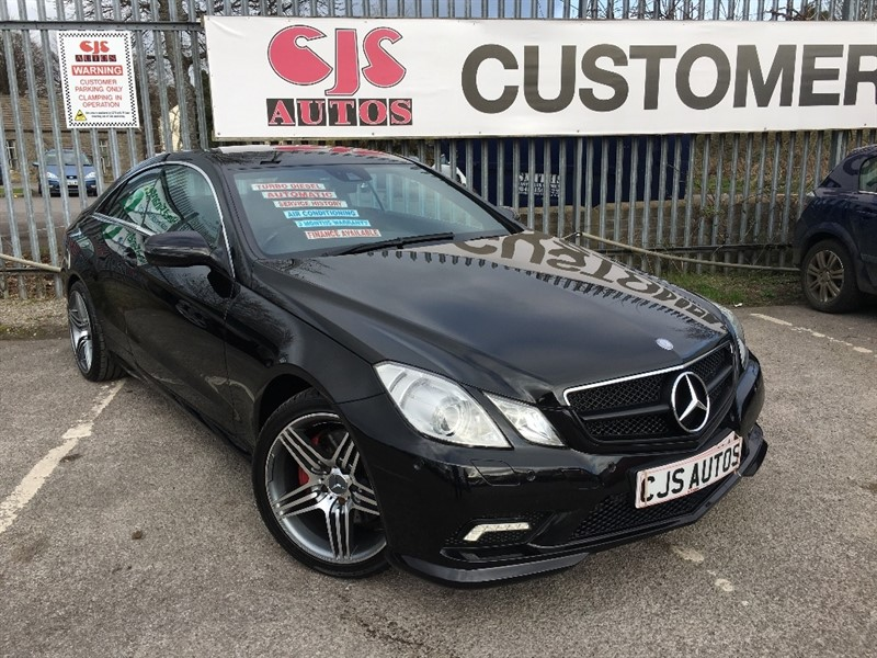 used Mercedes E350 E Class CDI Sport 2dr in Bedminster-Bristol