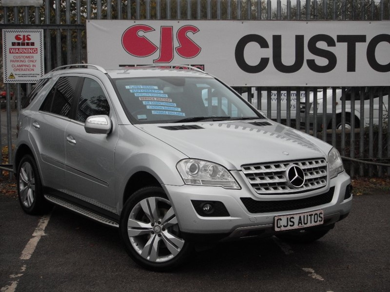 used Mercedes ML320 M Class CDI Sport 7G-Tronic 5dr in Bedminster-Bristol