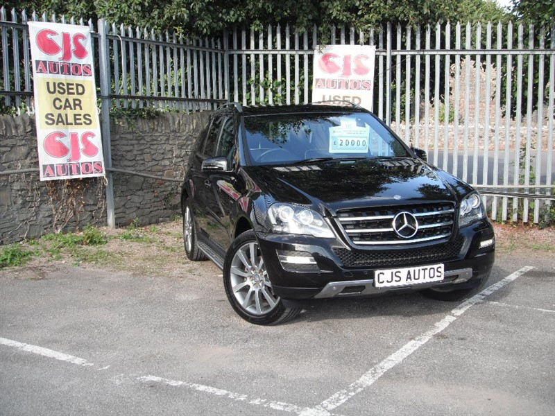 used Mercedes ML350 M Class CDI Grand 4x4 5dr in Bedminster-Bristol
