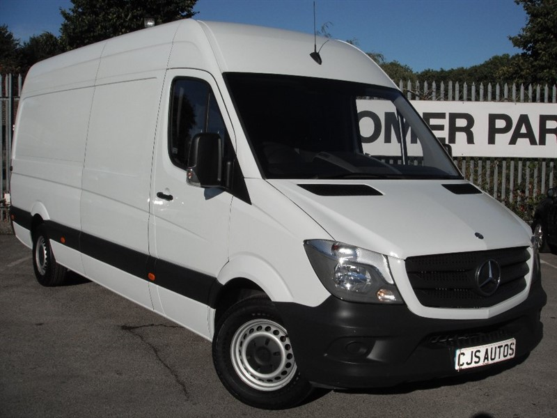 used Mercedes Sprinter CDI 313 Ex High Roof 4dr LWB in Bedminster-Bristol