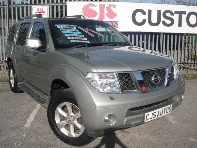 used Nissan Pathfinder dCi Aventura 5dr in Bedminster-Bristol