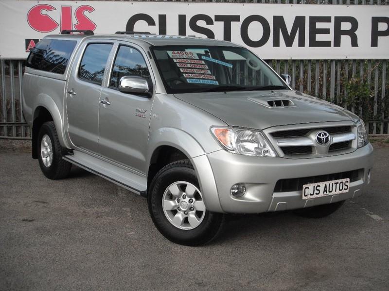 used Toyota Hilux D-4D HL3 4dr in Bedminster-Bristol