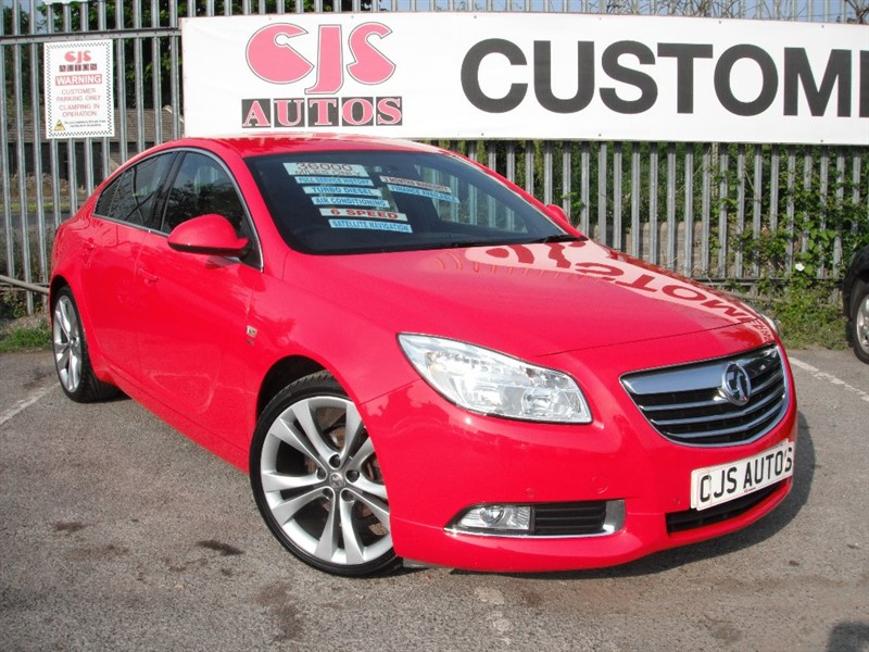 used Vauxhall Insignia CDTi 16v SRi VX-Line Red 5dr in Bedminster-Bristol