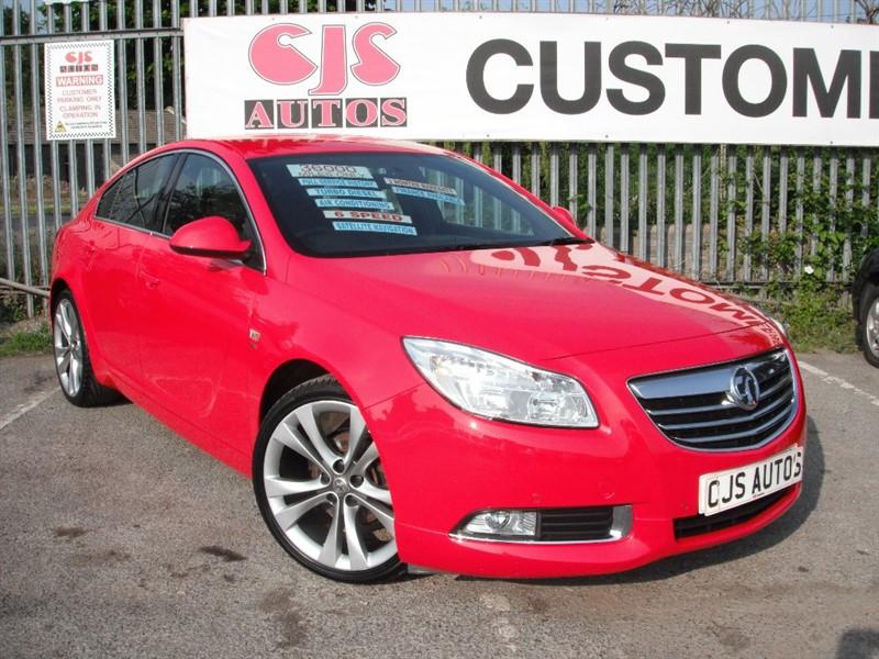 used Vauxhall Insignia CDTi 16v SRi VX-Line Red 5dr in Bedminster-Bristol