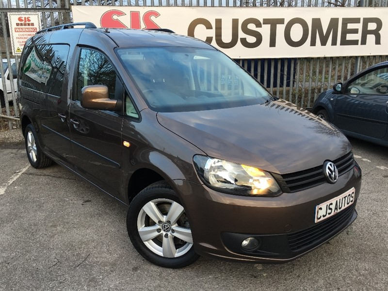 used VW Caddy Maxi TDI C20 Maxi Life Bus 5dr (7 Seats) in Bedminster-Bristol