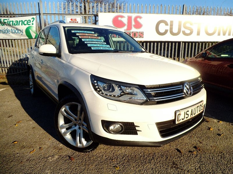 used VW Tiguan TDI BlueMotion Tech Sport DSG 4WD 5dr (start/stop) in Bedminster-Bristol