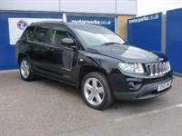 Used Jeep Compass 2.2 CRD Limited 5dr (2WD)