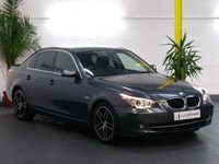 Used BMW 520d 5 SERIES SE 4dr Step Auto FSH LEATHER INTERIOR