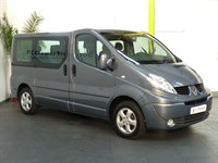 Used Renault Trafic SL27 SPORT DCI 115 9 SEATER MPV NO VAT