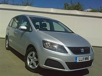 Used SEAT Alhambra TDI CR S 5dr DSG ONE LADY OWNER, FSH