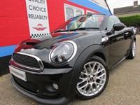 Used MINI Roadster (13) COOPER S OVER £6000 OF EXTRAS, NAV, LEATHER, JCW KIT.