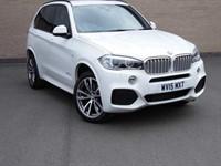 Used BMW X5 XDRIVE40D M SPORT