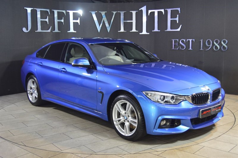 used BMW 435d XDRIVE M SPORT GRAN COUPE Automatic in cardiff-south-wales