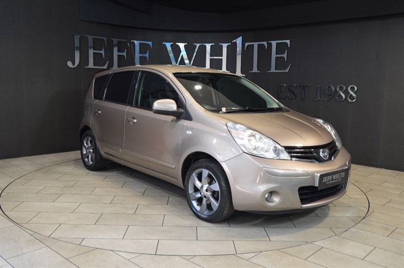 used Nissan Note 1.4 N-TEC 5dr in cardiff-south-wales