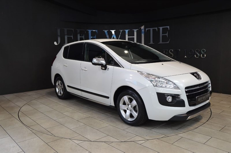 used Peugeot 3008 2.0 HYBRID4 SR 5dr in cardiff-south-wales