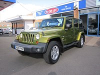 Used Jeep Wrangler SAHARA UNLIMITED